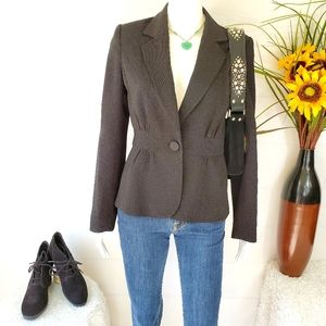 White House Black Market beautiful peplum jacket